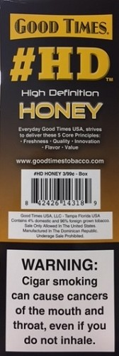 Good Times Cigarillos HD Honey Pouch