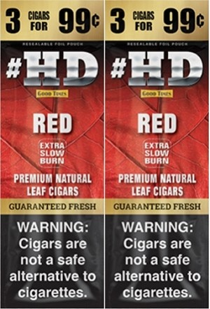 Good Times HD Red 3 for 99 Cigars