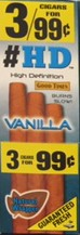 Good Times Cigarillos HD Vanilla Pouch