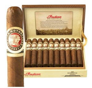 "Indian Motorcycle Habano Robusto Cigars (5""x50)"