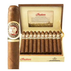 "Indian Motorcycle Habano Gordos Cigars (6""x58)"