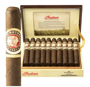 "Indian Motorcycle Maduro Robusto Cigars (5""x50)"