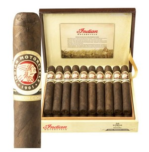"Indian Motorcycle Maduro Toro Cigars (6""x52)"