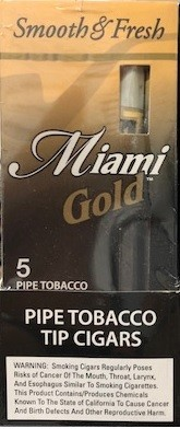 Miami Gold Mild Cigars Pack