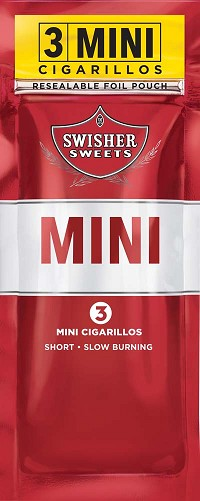 Swisher Sweets Cigarillos MINI Foil Pack Regular