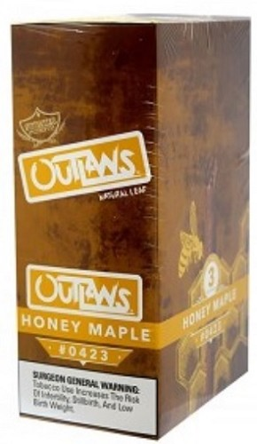 Swisher Sweets Outlaw Honey Maple Natural Leaf Cigars