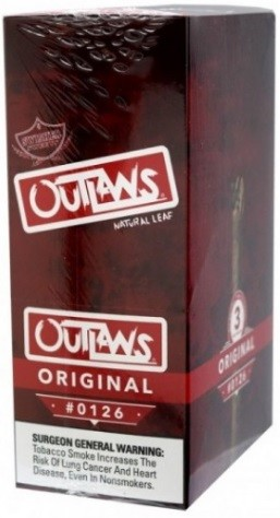 Swisher Sweets Outlaw Original Natural Leaf Cigars