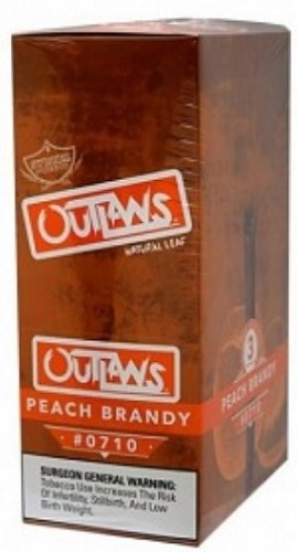 Swisher Sweets Outlaw Peach Brandy Natural Leaf Cigars