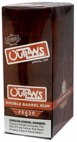 Swisher Sweets Outlaw Double Barrel Rum Natural Leaf Cigars