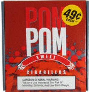 Pom Pom Cigarillos Sweet Regular Box