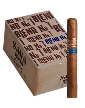 "Saga Blend No.7 Robusto Cigars (5-1/2""x50)"