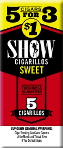 Show Cigarillos Sweet 5 for 1