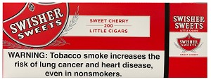 Swisher Sweets Filtered Cigars Cherry