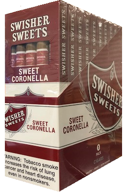 Swisher Sweets Coronella Cigars 5 Pack