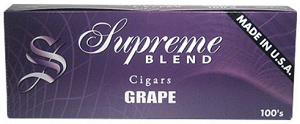 Supreme Blend Filtered Cigars Grape