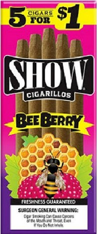 Show Cigarillos Bee Berry 5 for 1