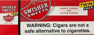 Swisher Sweets Filtered Cigars Twin Pack CHERRY
