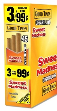 Good Times Cigarillos Sweet Madness Pouch 15/3