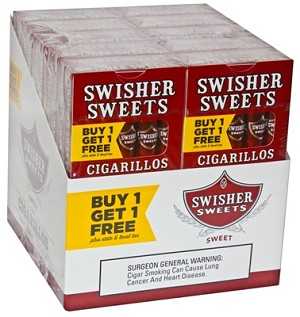 Swisher Sweets Cigarillos Regular Pack B1G1