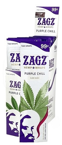 Zagz Purple Chill Hemp Wrap